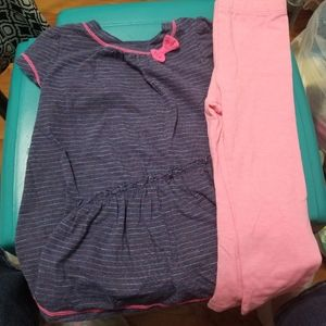 Blue and Pink 2 pc set